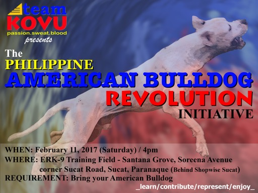 Philippine American Bulldog Revolution